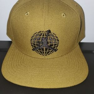 Jordan brand desert sand snapback hat cap